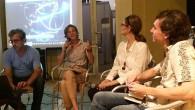 O Espaço Cultural Casa das Onze Janelas recebeu na noite de sexta-feira (10) os artistas Véronique Isabelle, Ana Mokarzel, Sávio Stoco e Alexandre Sequeira.