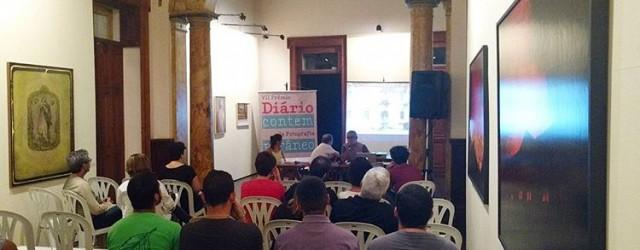 Guy Veloso, Jorane Castro e Janduari Simões falaram sobre seus trabalhos que integram a Coleção de Fotografias do projeto e suas trajetórias artísticas
