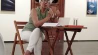 """Jussara realizou a fala """"Velho ou antigo?"""" na qual debateu a questão da preservação e da destinação do patrimônio histórico."""