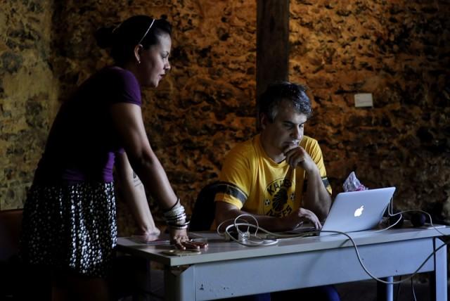 Belém, Pará, Brasil. Arte. Fotojornalismo em tempos de transformação – Com Eugênio Sávio. Ana Paula Rodrigues e Eugênio Sávio. 21/05/2016.