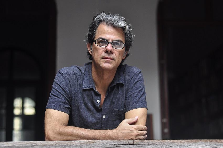Belém, Pará, Brasil. Cultura. Mariano Klautau Filho (Curador e coordenador Geral do Prêmio Diário Contemporâneo de Fotografia). 27/02/2020. Foto: Irene Almeida.